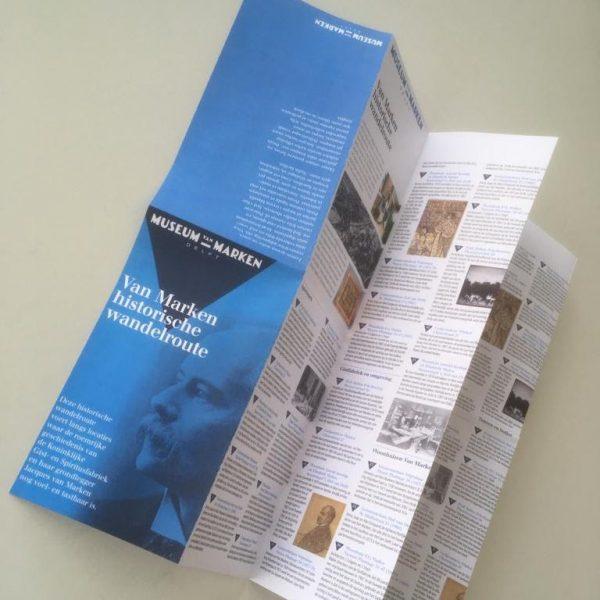 Wandelkaart Museum van Marken